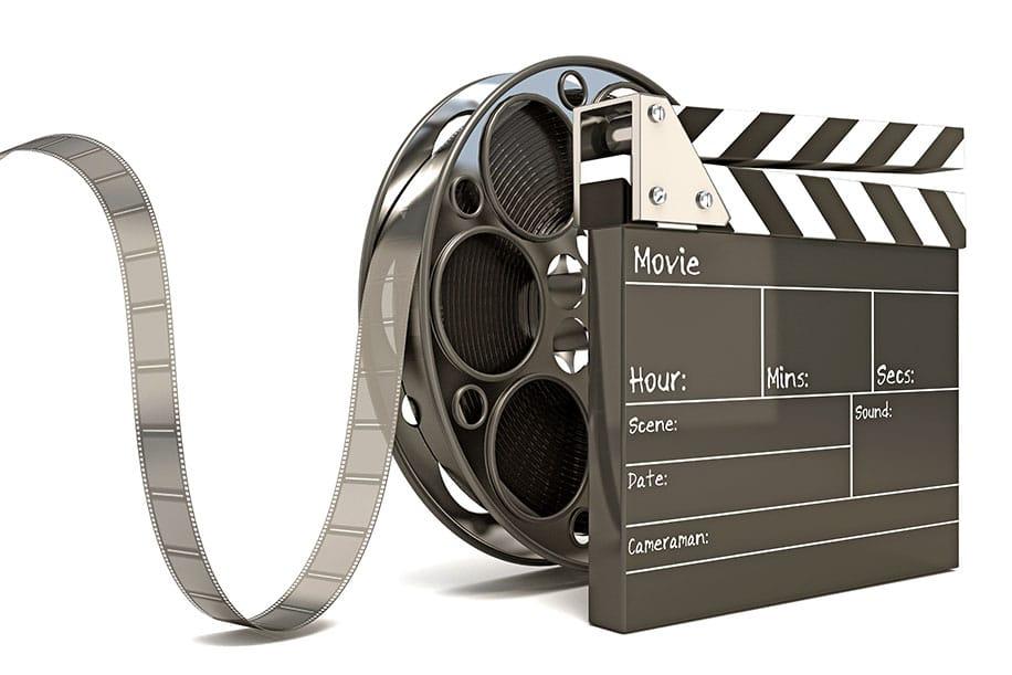 Movie film roll